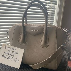 Givenchy Anitgona Medium - beige/grey
